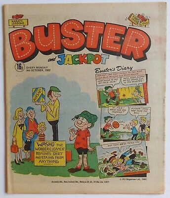 BUSTER Comic - 9th October 1982 • 2.99£