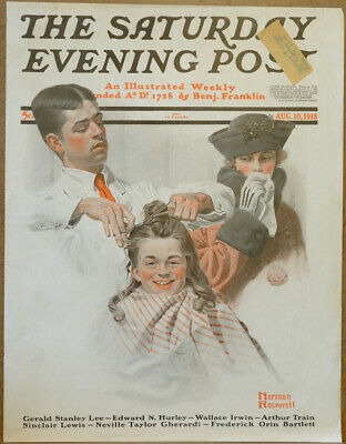 $ CDN114.83 • Buy August 10 1918 Saturday Evening Post Cover By Norman Rockwell