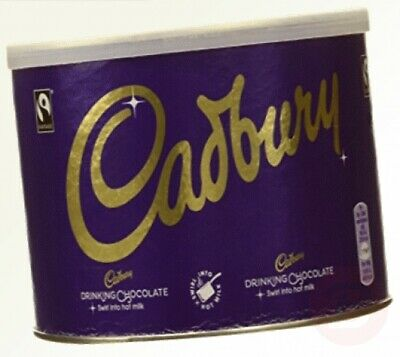 Cadbury Fair Trade Drinking Chocolate 1KG  (Pack Of 3 Total Weight 3KG) • 34.43£