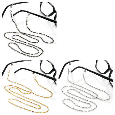 New Chain Bead Cord Sunglasses Specs Glasses Strap Neck Lanyard ID Holder  • 2.99£