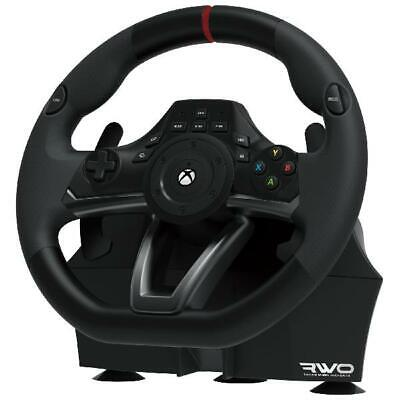 $158.28 • Buy Xbox One Steering Wheel And Pedal Set Racing Gaming Simulator Driving PC Real