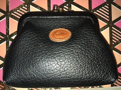 $39.99 • Buy Vintage Dooney And Bourke Kiss-lock Coin Purse Black