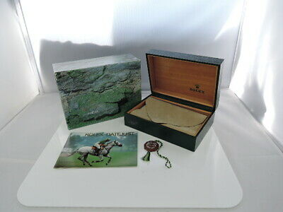 $ CDN120.27 • Buy ROLEX 14000 WATCH BOX CASE NO PILLOW TAG 68.00.55 100%Authentic CZ3610 SA1