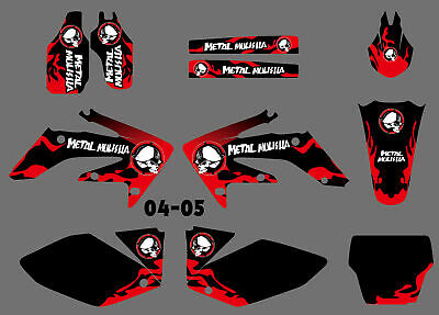 $49.99 • Buy Pro Team Graphics Decal Stickers Kit For Honda CRF 250 CRF250R 2004 2005