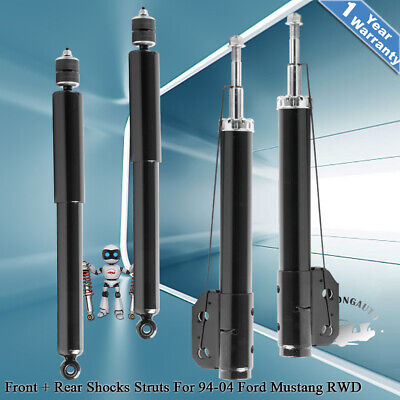$82.96 • Buy Front & Rear Shocks Absorber Struts For 1994-2004 Ford Mustang GT Base Coupe