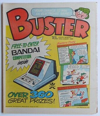 BUSTER Comic - 27th August 1983 • 2.99£