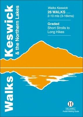Walks Keswick And The Northern Lakes (Hallewell Pocket Walking Guides) • 5.58£