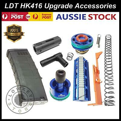 AU34.99 • Buy Upgrade Parts For LDT HK416 Gearbox Plunger Ladder Spring Gel Blaster Toy 7-8mm