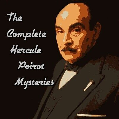 Hercule Poirot Mysteries Complete Collection 41 Stories -  ALL TAGGED - DOWNLOAD • 3.95£