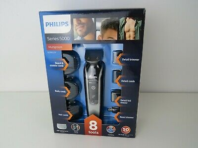 AU159.82 • Buy Philips QG3362/23 MultiGroom 5000 Cordless Mens Beard Body Hair Trimmer Clipper