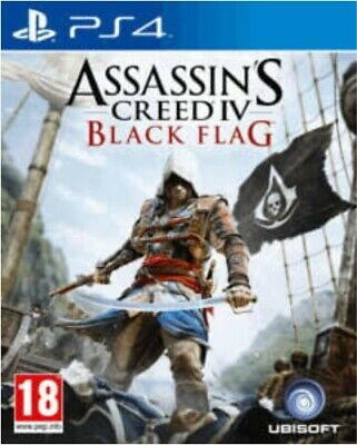 Assassin's Creed Black Flag IV PS4 ☆☆SUPERFAST & FREE DELIVERY☆☆ • 10.99£