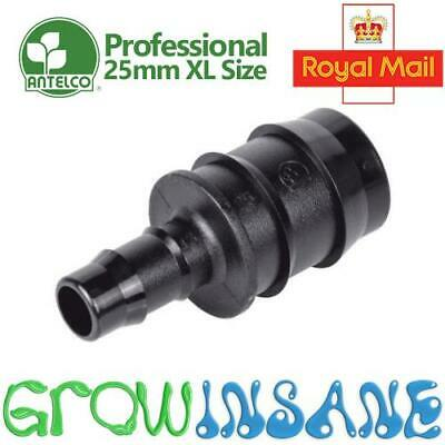 Antelco 25mm X 13mm Reducer Joiner Irrigation Pipe Fitting Hydroponic Pond • 4.19£