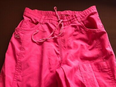 $11.95 • Buy NrG By Barco Stretch Scrubs Womens Pants Size XSmall Pink