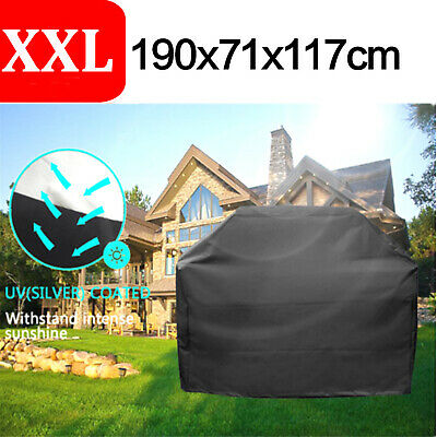 AU26.59 • Buy XXL BBQ Grill Cover 4 Burner Outdoor Waterproof Gas Charcoal Barbecue Protection