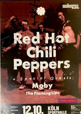 $83.95 • Buy Red Hot Chili Peppers Koln Sporthalle 90's Vintage Repro Concert Poster 23 X 33