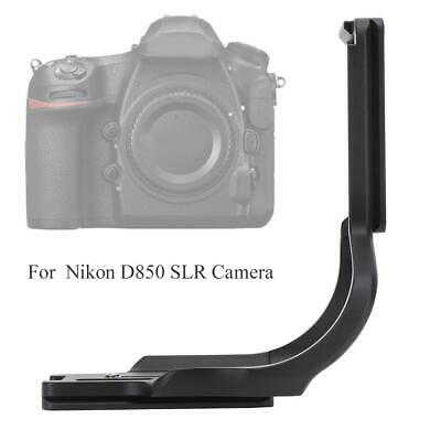 AU60.16 • Buy Metal Quick Release L Plate Holder Bracket For Nikon D850 SLR Camera With Wrench