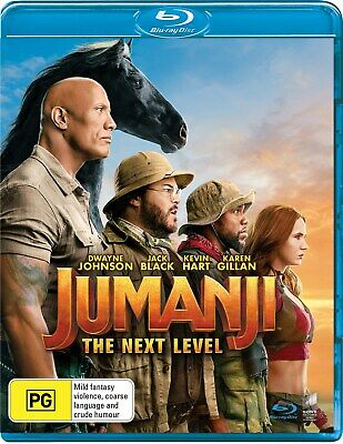 AU15.86 • Buy Jumanji The Next Level Blu-ray Region B NEW