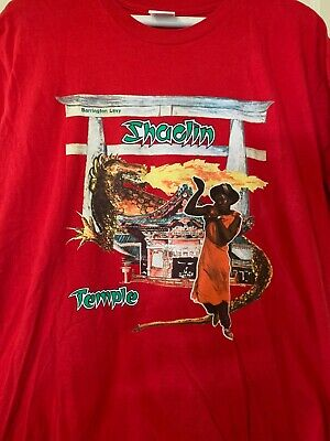 $ CDN101.01 • Buy Pre Owned 100% Authentic Supreme,  Large Red  Barrington Levy T Shirt
