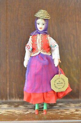 Fabulous VINTAGE Doll Of A Middle Eastern Woman By REXARD  19cm Tall • 10£