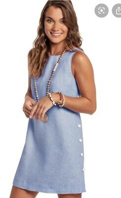 $59.95 • Buy Island Company Women's Button Shift Dress Color: Andros