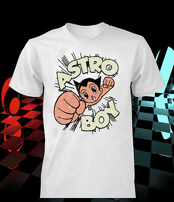 Astro Boy T-shirt A Robot With Incredible Power Vintage Kids Men Women Gift Idea • 10.60£