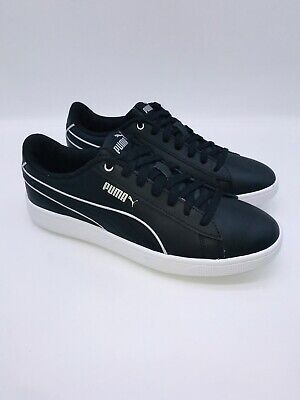 AU26.71 • Buy Puma Women's Vikky V2 Lace Up Leather Casual Sneaker - BLACK