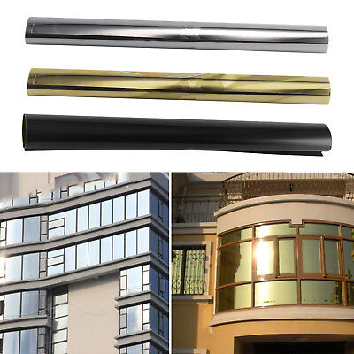 50cm One Way Mirror Window Film Privacy Reflective Glass Sticker Effect Tint	 • 5.99£
