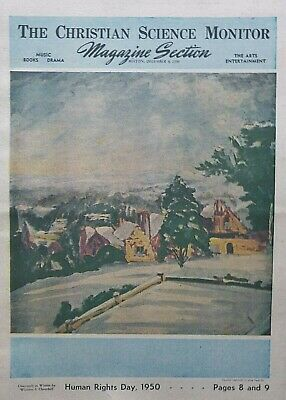 £49.50 • Buy CHARTWELL IN WINTER By WINSTON CHURCHILL ATLEE HUMAN RIGHTS DAY December 9 1950