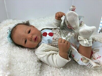 $ CDN599.64 • Buy ADORABLE... Realistic Ethnic Reborn Baby Girl Maxian 21  Long By: Daielle Zweers