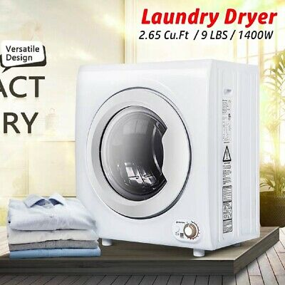 View Details 9L 1400W Portable Electric Tumble Laundry Dryer Clothes Drying Machine Drainer • 359.99$