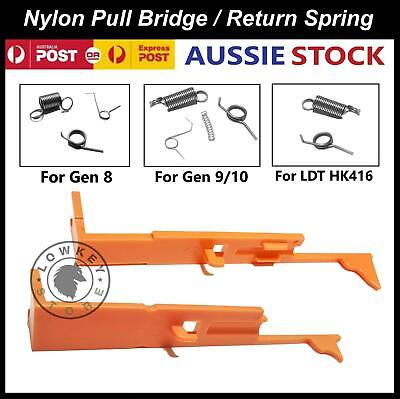 AU16.99 • Buy Nylon Pull Bridge/Return Spring Set Tappet Gen8 J9 J10 ACR LDT HK416 Gel Blaster