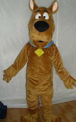 L|scooby-doo Dog Brown Mascot Costume Cosplay Adult Suit Fancy Dress Handmade Ho • 98.99£