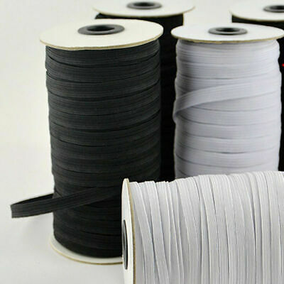 $ CDN14.74 • Buy 120 Yards Flat Elastic Band 3/5/7 Mm Rubber Strap Stretch Sewing Making In Stock