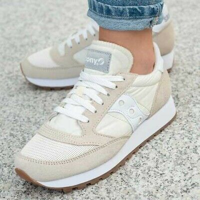 Saucony Jazz Original Vintage Sneaker Women's White Size 6.5 UK Rrp: £79.90 • 44.90£