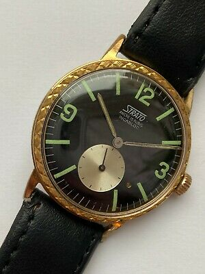$ CDN55.08 • Buy  Vintage RARE Beautiful WATCH STRATO ANCRE 15 RUBIS INCABLOCK COLLECTION SALE