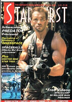 Starburst Magazine No.113 January 1988 - Arnold Schwarzenegger - TV Film • 6.50£