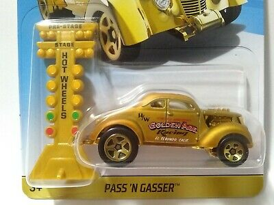 $ CDN21.92 • Buy 2018 Hot Wheels Pass 'N Gasser Gold Mail In Promo Anniversary Exclusive