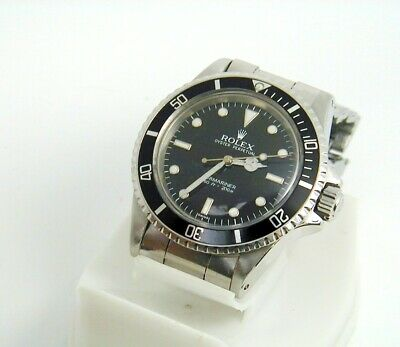 $ CDN23000 • Buy Rolex Submariner  Iconic  5513 Rolex Servcied Sub With Service Card, Book