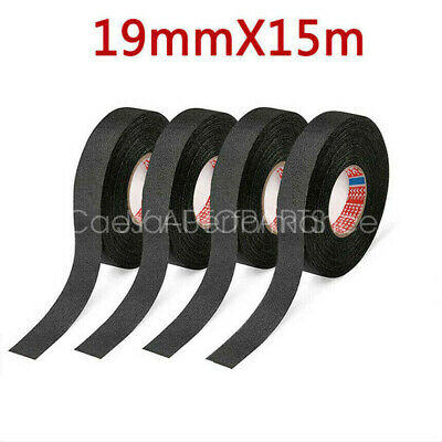 $6.77 • Buy 4 Rolls Cloth Tape Wire Electrical Wiring Harness Car Auto Suv Truck 19mm*15m