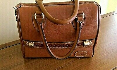 AU55 • Buy OROTON  - Vintage Signature Satchel/Boston Style Bag. Leather. PUC.Made In Italy
