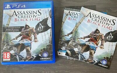 Assassins Creed IV: Black Flag - PS4 - ☆FAST FREE DELIVERY☆ • 13.49£