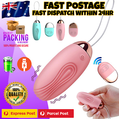 AU27.95 • Buy Wireless Vibrator Wearable Egg Bullet Vibrating Panties Female Adult Sex Toy NEW