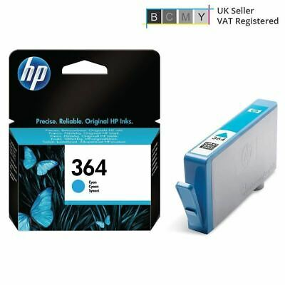 Original HP 364 Cyan 2016 Ink Cartridge CB318EE For Photosmart 5510 • 7.95£