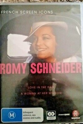 AU34.95 • Buy Love In The Rain & A Woman At Her Window Romy Schneider New Sealed R4 French Dvd