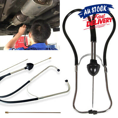 AU11.95 • Buy Dual Tube Diagnostic Tool Car Engine Sound Mechanic's Stethoscope Automotive