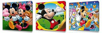 Mickey Mouse Clubhouse II Canvas Wall Art Plaques/Pictures • 8.99£