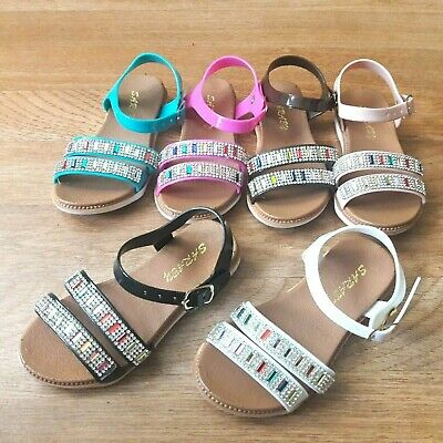 $6 • Buy Toddler Girls Jelly Flexible Sandals Size 6,7,8,9 New