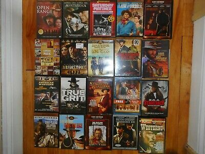 $ CDN60 • Buy Lot Of 12 WESTERN DVDs