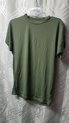 $9.99 • Buy Mens Elite Issue Size Medium Olive Green Performance Tee