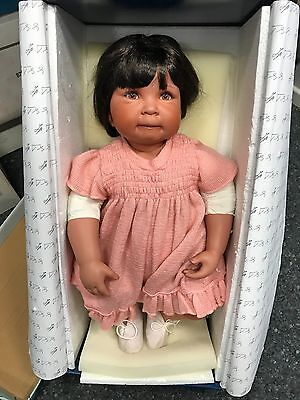 £75.27 • Buy Donna Rubert Porcelain Doll 60 Cm. Top Condition